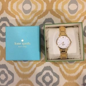 Kate Spade Yellow Gold Watch